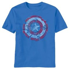 Captain America Glass Shield Shirt