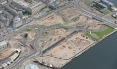 New Dundee Waterfront street layout to open to drivers this weekend - Dundee / Local / News / The Courier Dundee Waterfront, Site Visit, Aerial View, City Photo, Cities, Layout, Urban, Local News, Street