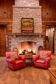 Ranch - traditional - Living Room - Austin - B Shaw design