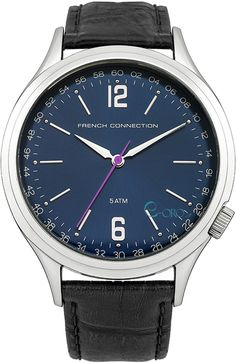 UK Deals & Sales from Best Shopping Sites Gents Watches, Watches For Men, Best Shopping Sites, Uk Deals, Deal Sale, French Connection, Black Leather, Accessories, Watch Case