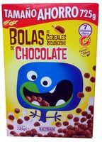 Bolas de cereales recubiertas de chocolate Hacendado - Producto