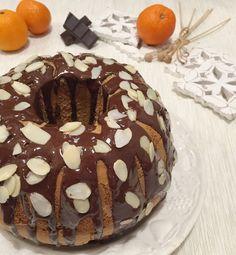 Ciambella all'Arancia e Cioccolato Senza Burro - Dolci Senza Burro