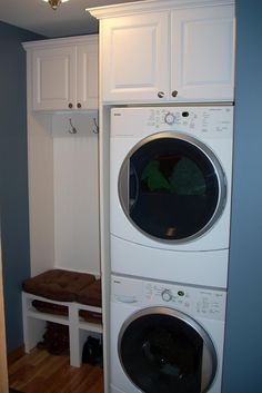 Laundry mud room