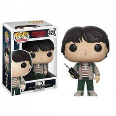 From Stranger Things, Mike with Walkie Talkie, as a stylized POP vinyl from Funko! Stylized collectable stands 3 ¾ inches tall, perfect for any Stranger Things fan! Collect and display all Stranger Things POP! Funk Pop, Stranger Things Funko Pop, Stranger Things Quote, Pop Disney, Film Disney, Pop Vinyl Figures, Suicide Squad, Funko Pop Dolls, Funko Toys