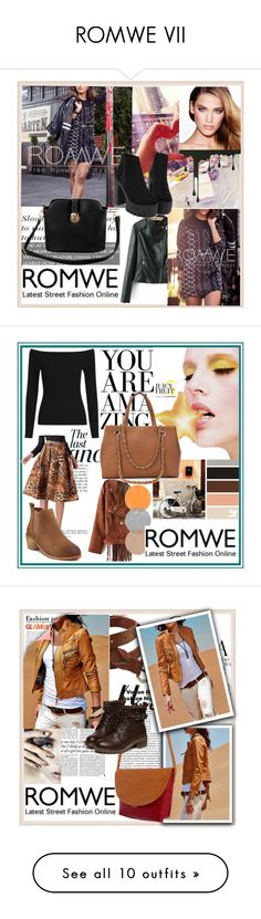 """ROMWE VII"" by damira-dlxv ❤ liked on Polyvore featuring vintage, Anja, Whiteley, MML, Victoria Beckham, Yellow Jacket, Prada and Tiffany & Co."