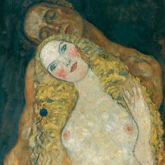 Detail of Adam and Eve by Gustav Klimt Gustav Klimt, Art Klimt, Museum Of Fine Arts, Art Museum, Adam Et Eve, Art Nouveau, First Art, Art Graphique, Japanese Art