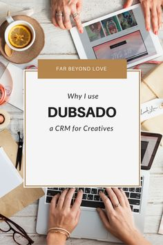 It's time to invest in your business and start working with automated workflows and contract management. Dubsado is a CRM for Creative Entrepreneurs.
