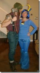 creative couple costumes paul bunyan and couple costume
