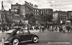 1954 Berlin Wedding Corso Theater und Lichtburg