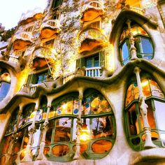 #Gaudi. #Barcelona.  #travel #vacation  Re-pinned by www.avacationrental4me.com