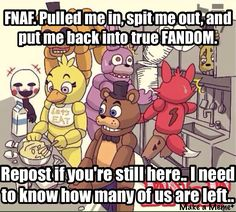 PLEASE TELL ME IN THE COMMENTS HOW MANY OF YOU ARE STILL IN THE FANDOM!!