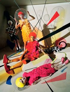 'Gravitys Rainbow' by Tim Walker for Dazed & Confused, Spring 2015.