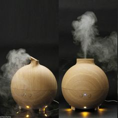 Amazon.com: Yoga Spa Mist Diffuser 600ml Wood Grain Aromatherapy Vaporizer Portable Cool Mist Baby Humidifier with Whisper Quite and Auto Shut-Off, for Home, Bedroom, Yoga Room, and Office: Home & Kitchen