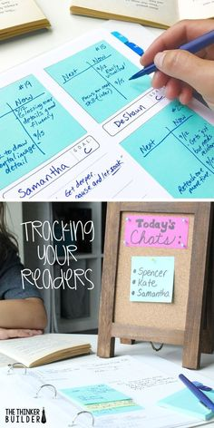 Keeping track of your students' reading progress can so easily get overwhelming and cumbersome. Read about a streamlined system that actually helps you move your readers forward. And grab the record-keeping forms, too! (The Thinker Builder) 5th Grade Reading, Student Reading, Guided Reading, Teaching Reading, Reading Record, Reading Groups, Reading Intervention Classroom, Teaching Ideas, Teaching Displays