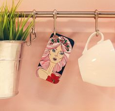 Pink princess   #case #handmade #iphone #apple #art #draw #painting #artlife