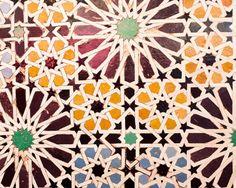 Moroccan traditional Zellige