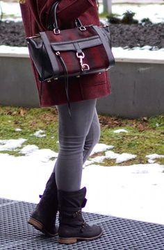 Bordeaux Jacket New post on http://www.glamfizz.de #fashion #blogger #blog #fashionblog #fashionblogger #rebecca #minkoff