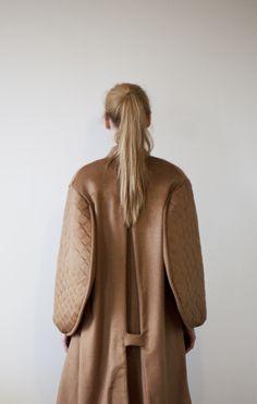 Julia Björkeheim AW13 #JuliaBjorkeheim #coat #back