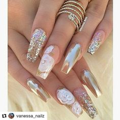 12 unique trending nail art designs for Hot nail right nail now in fashion. Stiletto nails, rainbow almond nails, Ombre rounded nail art designs for summer. Fabulous Nails, Gorgeous Nails, Pretty Nails, Nice Nails, Perfect Nails, Acrylic Nail Art, Acrylic Nail Designs, Nail Art Designs, Nails Design