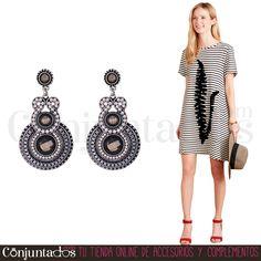 Los #pendientes Thiet, de estilo étnico, perfectos para looks desenfadados y juveniles ★ 12,95 € en http://www.conjuntados.com/es/pendientes-de-abalorios-thiet-en-blanco-y-gris.html ★ #novedades #earrings #conjuntados #conjuntada #joyitas #lowcost #jewelry #bisutería #bijoux #accesorios #complementos #moda #fashion #fashionadicct #picoftheday #outfit #estilo #style #GustosParaTodas #ParaTodosLosGustos