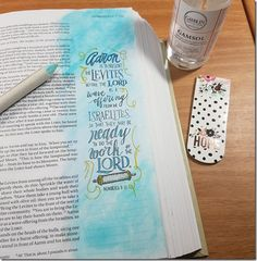 My Weekly Bible Journaling #10 | Paulette's Papers Book of Numbers