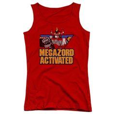 Power Rangers: Megazord Activated Junior Tank Top