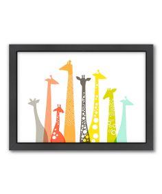 Giraffes Wall Art   Daily deals for moms, babies and kids