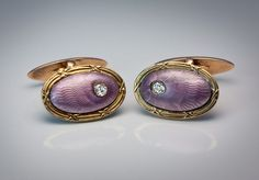 Vintage cufflinks by Peter Carl Faberge