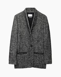 Isabel Marant Étoile / Denver Short Herringbone Coat