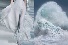 Where I See Fashion | Tumblr by Bianca Luini - Details at Chloé Spring 2010 | Rough Sea series (photo detail) by GIOVANNI ALLIEVI