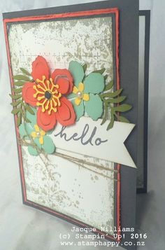 stampin up timeless texture botanical blooms dies