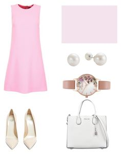 HB by nao-kim on Polyvore featuring мода, Dolce&Gabbana, Francesco Russo, MICHAEL Michael Kors and Olivia Burton