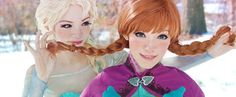 Frozen Halloween Costumes For Women -- Simple DIYs to elaborate cosplay outfits -- Anna and Elsa costumes
