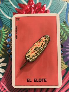 Best elote pin ever