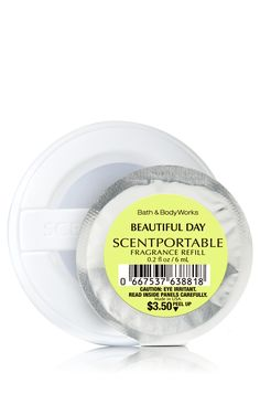Beautiful Day Bath & Body Works Scentportable | Sun-kissed apple, wild daisies & pink peonies evoke the beauty of a spring day!