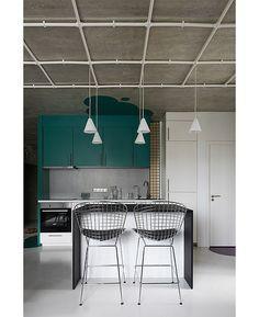 Le Atelier: модный бетон, цвет и бюджет • Интерьеры • Дизайн • Интерьер+Дизайн