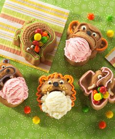 Hungry Animal cake pans.  These are too cute for individual cakes for birthday parties