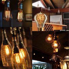 KINGSO E27 40W 220V A1923 Anchors Edison Lampe Warmweiss Vintage Stil Glhbirne