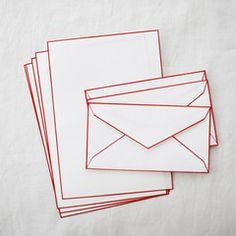 HAIBARA Colour Rimmed Washi Letter Sets - UGUiSU Online Store