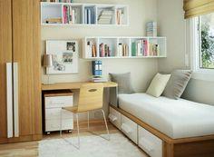 Cabinet For Small Bedroom 60 idées pour un aménagement petit espace | cabinet design, small