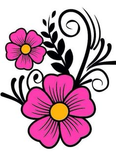 morning glory coloring pages Applique Patterns, Beading Patterns, Flower Patterns, Flower Designs, Beadwork Designs, Embroidery Designs, Painted Flower Pots, Flower Clipart, Flower Doodles