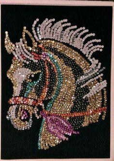 Sequin Art Dot Art Painting, Mandala Painting, Beaded Embroidery, Embroidery Patterns, Jewelry Crafts, Jewelry Art, Sequin Crafts, Native Beading Patterns, Mandala Canvas