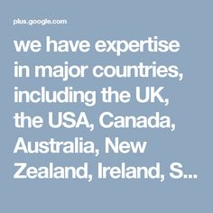 we have expertise in major countries, including the UK, the USA, Canada, Australia, New Zealand, Ireland, Singapore, Dubai, Malaysia and many more. We offer free education counseling and other additional support required to get tertiary education abroad. Visit us on - http://global-opportunities.net