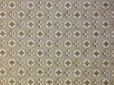 Tex Ex Cotton Viscose Medallion Cream Taupe 393| Textile Express | Fabric