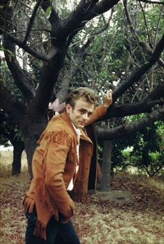 James Dean and that cowboy side of him.
