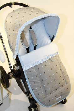 Funda capota y saquito para bugaboo camaleón por Baby Luna www.babyluna-buga.com