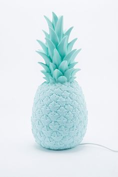 Goodnight Light Pineapple Lamp UK Plug in Blue - Urban Outfitters