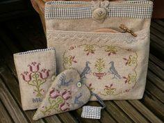 Cross stitch essentials pouch