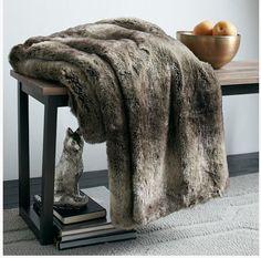 Faux Fur blanket?