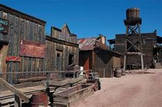 Built in 1890's the mining ghost town of Goldfield, Arizona ...i've been here, pretty neat :)